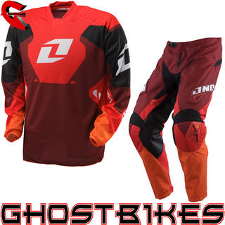 View Item One Industries 2013 Carbon Red Motocross Kit