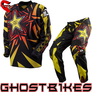 One Industries 2013 Carbon Rockstar Black Motocross Kit