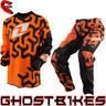 View Item One Industries 2013 Youth Carbon Labyrinth Orange Motocross Kit