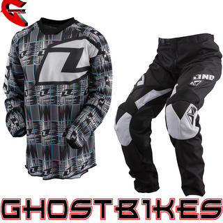 View Item One Industries 2013 Youth Carbon Static Charcoal Motocross Kit