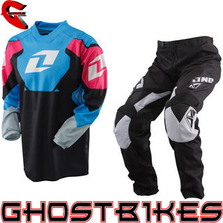 View Item One Industries 2013 Youth Carbon Black Motocross Kit