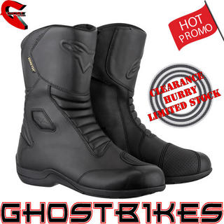 View Item Alpinestars Web Gore-Tex Motorcycle Boots