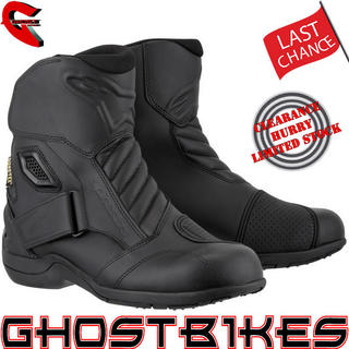 View Item Alpinestars New Land Gore-Tex Motorcycle Boots