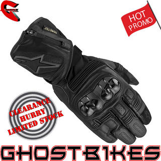 View Item Alpinestars Tech Road GTX Gore-Tex Motorcycle Gloves