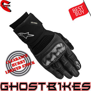 View Item Alpinestars Polar Gore-Tex Motorcycle Gloves