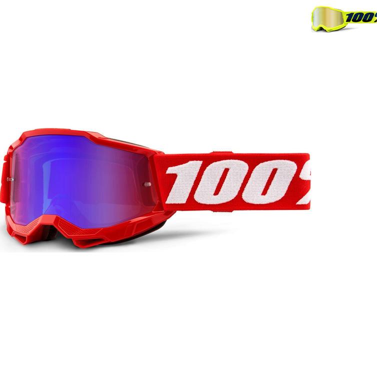 100% Accuri 2 Mirror Youth Motocross Goggles