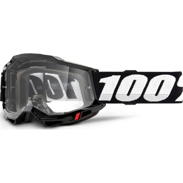 100% Accuri 2 Clear Motocross Goggles