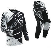 View Item Thor Phase S13 Splatter Black Motocross Kit