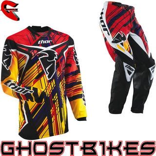 View Item Thor Phase S13 Youth Stix Yellow Motocross Kit