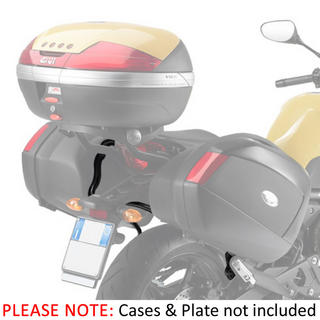 View Item Givi V35 Rapid-Release Pannier Rack - Yamaha XJ6 Diversion (09-12) (PLXR364)