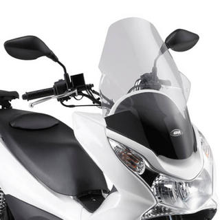 View Item Givi Motorcycle Screen Clear - Honda PCX 125 10-12 (D322ST)