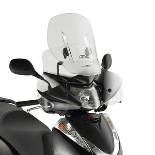 View Item Givi Motorcycle Sliding Screen Clear - Honda SH 300I 07-10 (AF308)