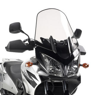 View Item Givi Motorcycle Screen Clear - Suzuki DL 650 V-Strom (04-11) (D260ST)
