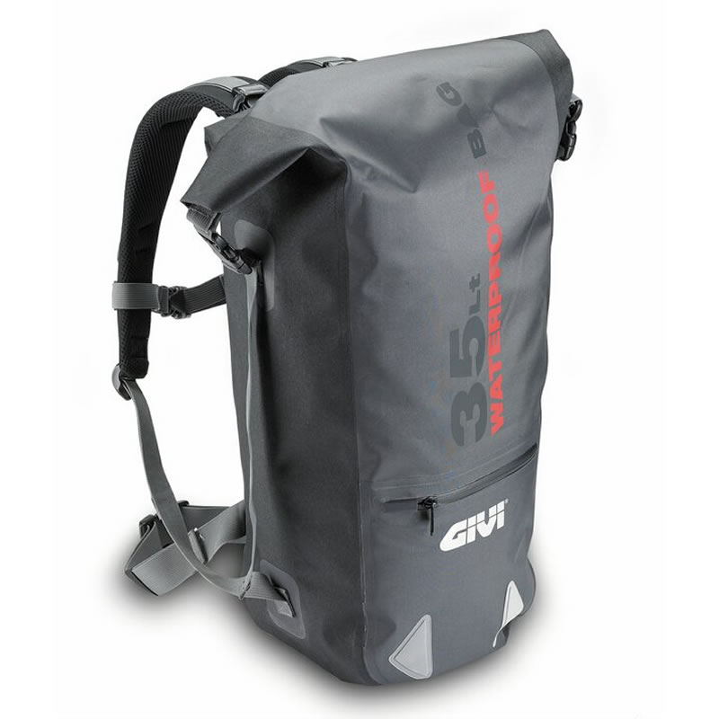 GIVI WP403 WATERPROOF MOTORCYCLE MOTORBIKE BACKPACK RUCKSACK ROLL ...