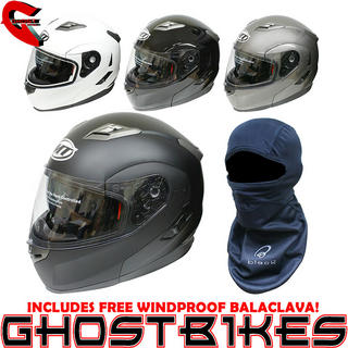 View Item MT Flux Flip Motorcycle Helmet (Free Balaclava)