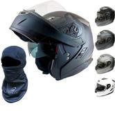 MT Flux Flip Motorcycle Helmet (Free Balaclava)