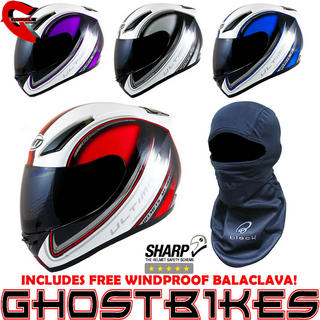 View Item MT Revenge Ultimate Motorcycle Helmet (Free Balaclava)