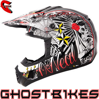 View Item Oneal 3 Series El Loco Motocross Helmet