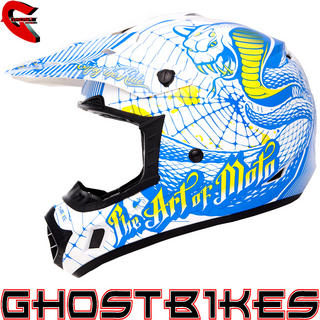 View Item Oneal 3 Series Cobra Motocross Helmet