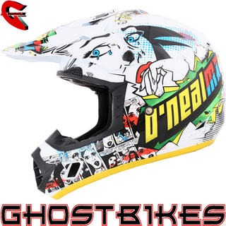 View Item Oneal 3 Series Villain Motocross Helmet