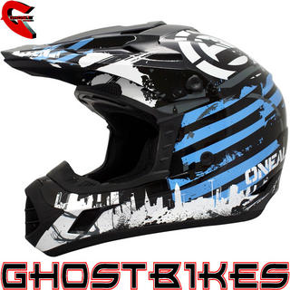 View Item Oneal 3 Series Urban Warrior Motocross Helmet