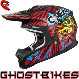 View Item Oneal 7 Series Mayhem Roots Motocross Helmet