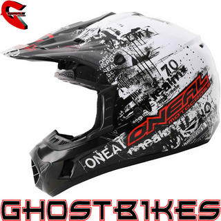View Item Oneal 3 Series Kids Toxic Motocross Helmet