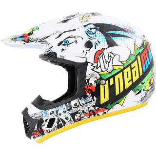 View Item Oneal 3 Series Kids Villain Motocross Helmet
