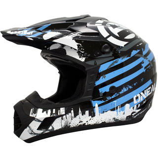 View Item Oneal 3 Series Kids Urban Warrior Motocross Helmet