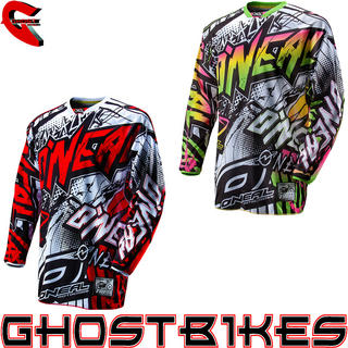 View Item Oneal Hardwear 2013 Automatic Motocross Jersey