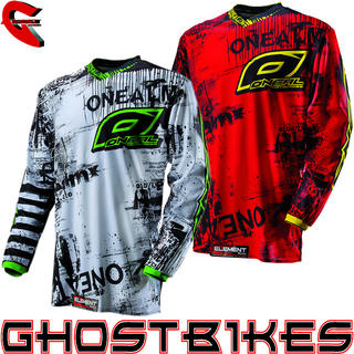 View Item Oneal Element Kids 2013 Toxic Motocross Jersey