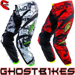 View Item Oneal Element Kids 2013 Toxic Motocross Pants