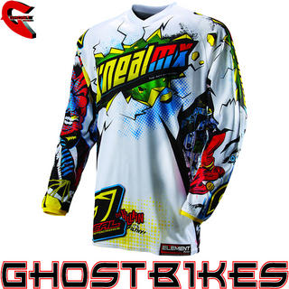 View Item Oneal Element Kids 2013 Villain Motocross Jersey