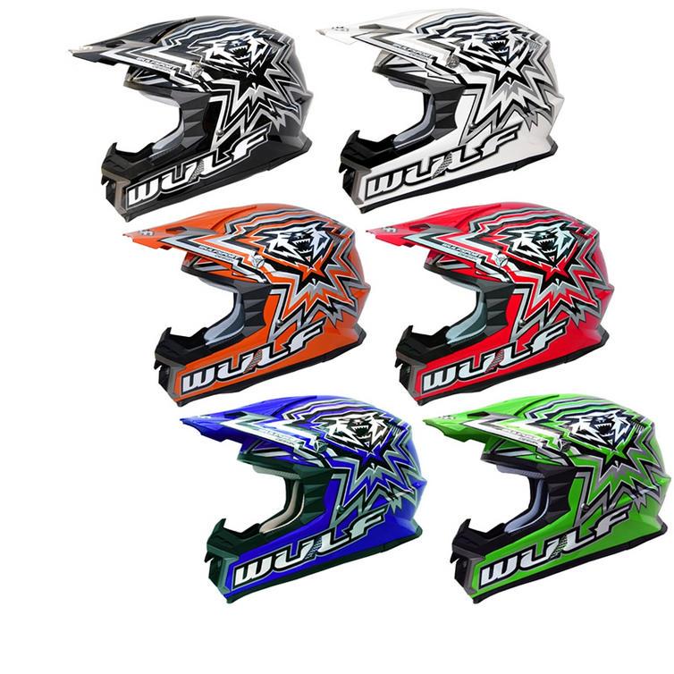 Wulf MX451 Libre X Motocross Helmet