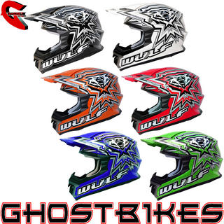 View Item Wulf 2013 MX451 Libre X Motocross Helmet