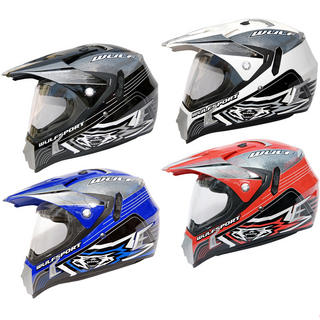 View Item Wulf 2013 Prima Speed Dual Sport Helmet