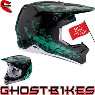 View Item One Industries Gamma Contaminant Motocross Helmet