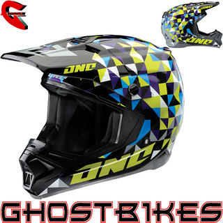 View Item One Industries Gamma Trixle Motocross Helmet