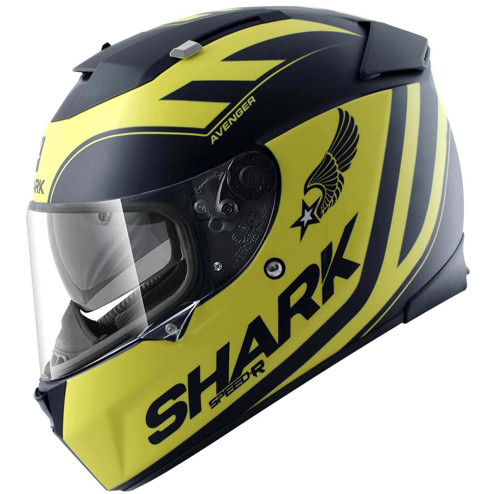 shark speed r avenger mat full face acu gold sports touring motorcycle helmet ebay. Black Bedroom Furniture Sets. Home Design Ideas