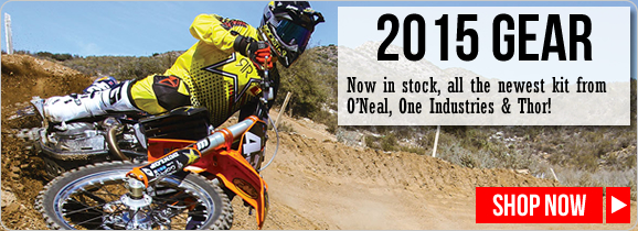 2015 Moto-X Racewear Kits