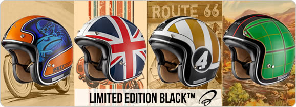 Limited Edition Open Face Helmet