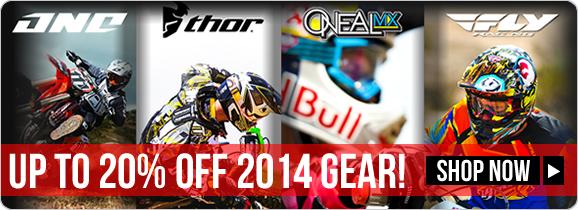 2014 Motocross Mega Sale