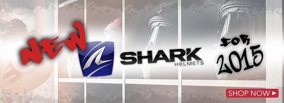 Shark 2015 Helmets