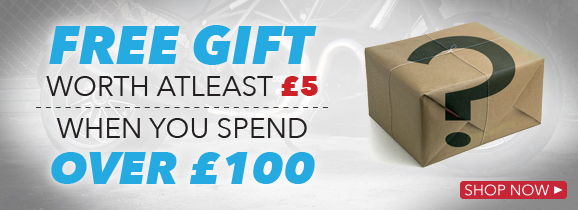 Free Gift for orders over £100