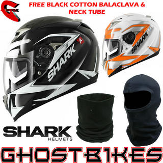 View Item Shark S900-C Creed Motorcycle Helmet  - FREE Balaclava + Neck Tube