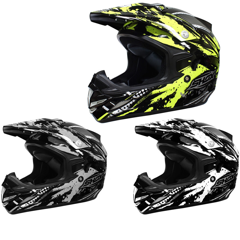 shox mx 1 duo motocross vtt quad hors piste mx casque enduro moto x ghostbikes. Black Bedroom Furniture Sets. Home Design Ideas