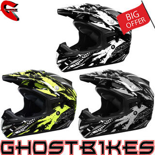 View Item Shox MX-1 Duo Motocross Helmet
