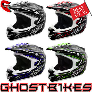 View Item Shox MX-1 Evolver Motocross Helmet