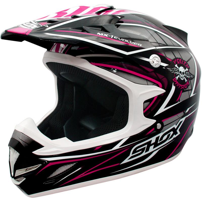 SHOX-MX-1-EVOLVER-OFF-ROAD-QUAD-MOTOCROSS-PIT-BIKE-MX-MOTORCYCLE-CRASH-HELMET