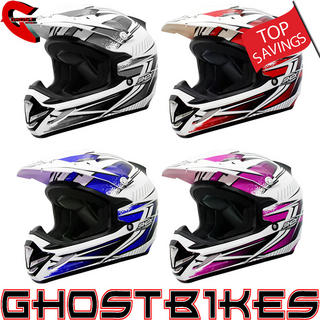 View Item Shox MX-1 Voltage Motocross Helmet